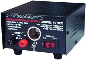 Pyramid Bench Power Supply Ac To Dc Power Converter 5 0 Amp Power Supply Ps9kx