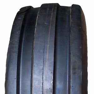 Two Firestone 6 00 16 3 Rib 6 Ply Front Tractor Tires Without Tubes