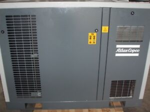 Atlas Copco Model Sf8ff Oil Free Air Compressor