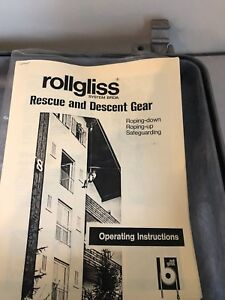 Rollgliss System Brda Rescue Descent Gear