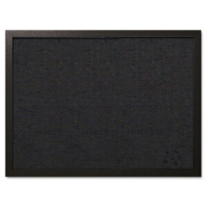 Fabric Bulletin Board 24 x18 Black Bvcfb0471168