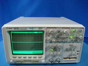 Agilent 54622d 100 Mhz 2 16 Channel Mixed Signal Oscilloscope W opt N2757a