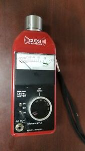 Quest Electronics 211a fs Permissable Sound Level Meter