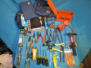 Electricians Hand Tool Kit 31pc Ideal Industries Cable Cutter rotary Bx Cutter