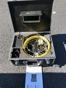 Anysun Drain Pipe Sewer Inspection Camera 7 Display