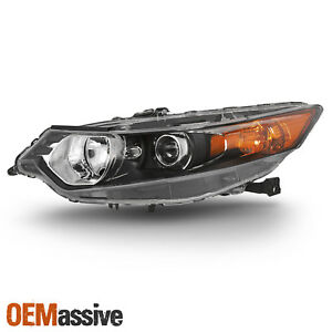 Fits 2009 2014 Acura Tsx Sedan Hid Type Headlight Driver Left Side Replacement