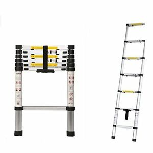 2m Portable Household Extension Telescopic Multipurpose Ladder