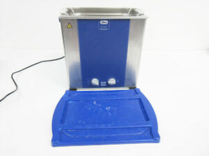 Elma E120h Elmasonic 3 4 Gallon Ultrasonic Cleaner E 120 H With Basket