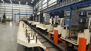 3 Makino A77 Cnc Horizontal Machining Center Cell System Pallet Pool