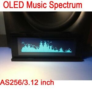 As256 3 12 Oled Music Spectrum Audio Level Display Indicator For Car Amplifier
