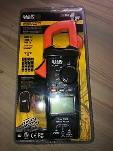 Klein Tools Digital Auto ranging Clamp Meter Ac dc True Rms Cl800 New