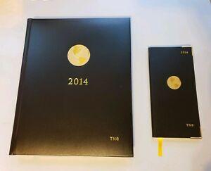 2014 The American Express Appointment Book Leather World Booklet Unused