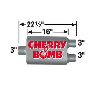 Cherry Bomb Vortex Muffler 88110cb New