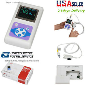 Us Seller oled Handheld Pulse Oximeter Spo2 Pulse Rate Monitor pc Software hot