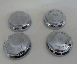 New Set Of 4 Octagon Knock Off Knockoff Nuts Nut For Wire Wheel Mgb W Mg Logo