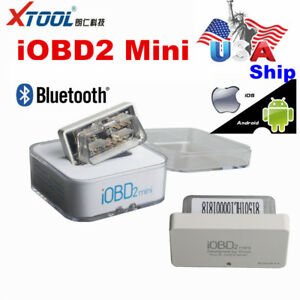 Usa Ship Xtool Iobd2 Mini Obd2 Eobd Scanner Bluetooth 4 0 For Ios Android