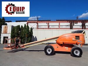 Jlg 600s Boom Man Aerial Scissor Telescopic Lift 4x4 diesel 60ft Height