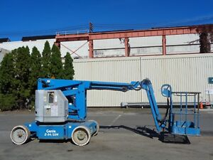Genie Z34 22n Electric Man Aerial Articulating Boom Scissor Lift 34 Ft Height