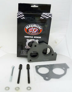 Maximizer Throttle Spacer Fits Chevy 87 To 93 S 10 Tbi For 4 3l