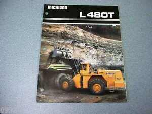 Michigan L480t Wheel Loader Brochure