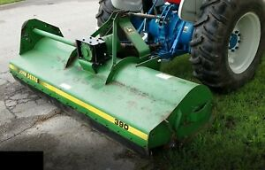 John Deere 390 Flail Mower ie Brush Bush Hog Cutter 7 8 Foot 7 5 Feet