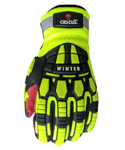 Cestus Armored Gloves Deep Iii Pro Winter 5207 Cut Impact Protection