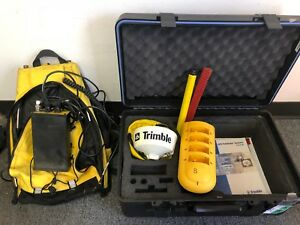 Trimble Dgps Backpack Gps System With Antenna Case 29653 00 Incomplete