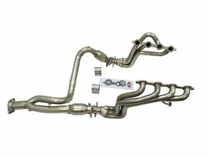 Maximizer Catted Long Tube Header For 00 03 Tahoe Suburban Avalanche 4 8l 5 3l