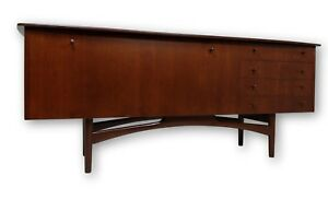 Mid Century Modern Floating Top Credenza Media Console Or Tv Stand Mcm