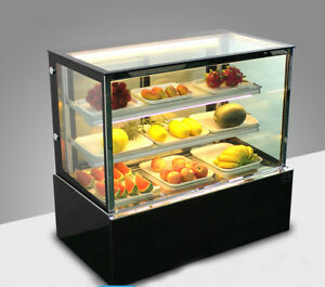 Commercial 220v Refrigerated Bakery Showcase Display Cabinet Display Case Sale