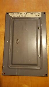 Square D Electrical Panel Cover Circuit Breaker Box Cover