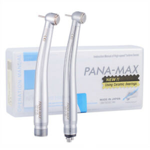 1 5 10 Nsk Pana Max Style Dental Push Button High Speed Handpiece 2 4 Hole B2 m4