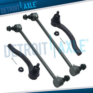 Front Sway Bar End Links Outer Tierods For 2010 2011 2012 2013 Mdx Zdx Pilot