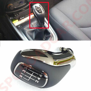6 Speed Gear Shift Lever Knob M T Oem Parts For Hyundai 2012 Genesis Coupe Fl