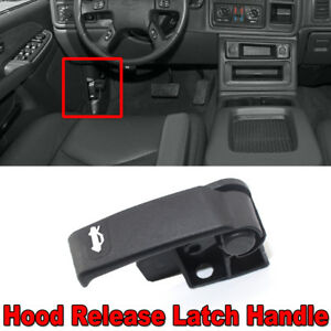 Hood Latch Release Pull Handle Repair Kit For Chevy Gmc Cadillac Pickup Truck