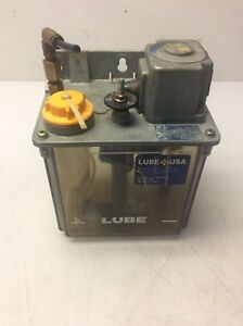 Lube Corp Automatic Lubricator Mmxl iii 110v 3 5w Interval 6 Min Used