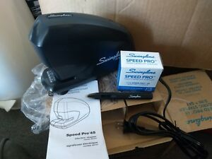 Swingline Electric Stapler Speed Pro 45 Sheets Black s7042141