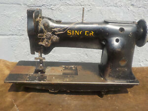 Industrial Sewing Machine Singer 112 140 Two Needle leather