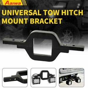 Universal Tow Hitch Mount Bracket Back Up Reverse Search Offroad Light