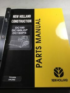New Holland Dc180 Dc180lgp Dc180ps Crawler Dozer Parts Catalog Manual