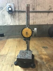 Federal Model C21b 0001 Dial Indicator And Stand