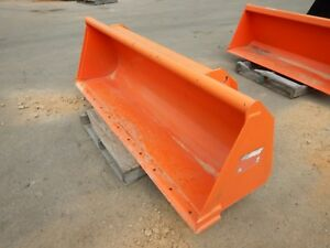 Kubota L2296 72 Quick Attach Heavy Duty Round Back Bucket Fits Many Kubota Mode