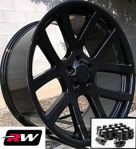 Dodge Charger Oe Replica Wheels 20 Inch Viper Gloss Black Rims 20x9