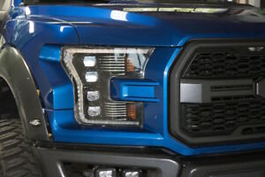 15 17 Ford F150 Morimoto Led Projector Headlights Switchback Edition White Drl