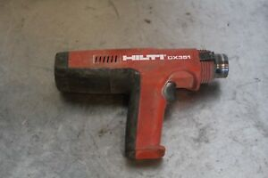 Hilti Powder Actuated Tool Dx351