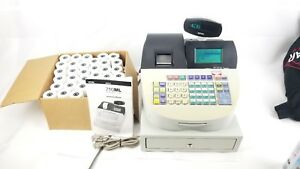 Royal Alpha 710ml Electronic Cash Register Manual And 72 Thermal Rolls No Key