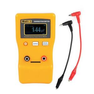 M6013 Lcd High Precision Capacitor Meter Measuring Capacitance Resistance Fine