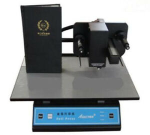 Ce 3050a Digital Version Gold Foil Stamping Machine Printer Free Shipping