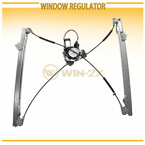 1pc New Front Left Power Window Regulator W Motor Fit Dodge Chrysler Mini Van