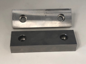 6 X 2 X 1 4 Sided Machined Steel Soft Jaws For Kurt 6 Vises Usa